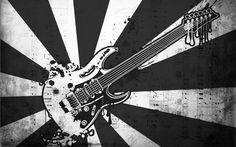 Pictures for Desktop: guitar wallpaper, 1680x1050 (594 kB)