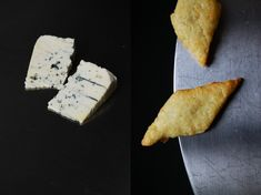 Buttery Blue Cheese Crackers with Nutmeg ° eat in my kitchen