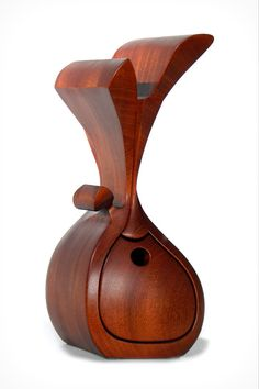 Sculptural+mahogany+bandsaw+box+by+NaturalEdge+on+Etsy,+$450.00