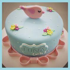 """Bolo """"passarinha"""" Luna #cake #bird"""