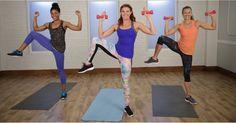 30-Minute Pilates-Based Cardio Workout | POPSUGAR Fitness