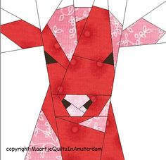 Maartje Quilts in Amsterdam: Free PPPatterns Quilting Projects, Quilting Designs, Farm Quilt, Picnic Quilt, Free Paper Piecing Patterns, Animal Quilts, Foundation Paper Piecing, English Paper Piecing, Quilt Tutorials