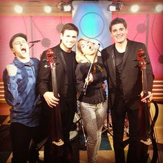 """2 Cellos took us down the """"Highway To Hell"""" on #VH1Buzz!"""