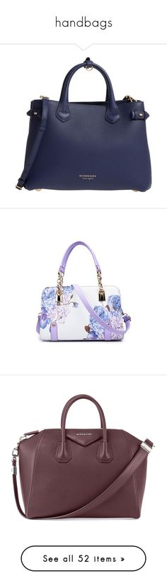 """""""handbags"""" by whitesandprincess ❤ liked on Polyvore featuring bags, handbags, tote bags, bolsa, totes, brilliant blue, leather tote shopper, leather tote, cross-body handbag and leather shopper tote"""