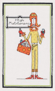 Dolly Mama-Janlynn                    Thinking of stitching this for a gift.