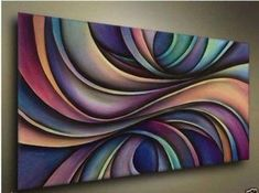 Huge Modern Abstract Wall Decor Art Canvas Oil Painting Canva No Framed Abstract Geometric Art, Abstract Canvas Art, Oil Painting Abstract, Painting Canvas, Easy Canvas Art, Modern Canvas Art, Large Canvas, Simple Oil Painting, Art N Craft