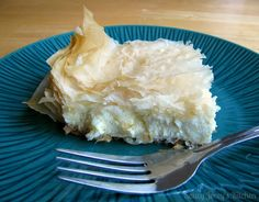 Saucy Joceys Kitchen: Tiropita Greek Cheese Pie, Cheese Pies, Recipe Boards, Meatless Monday, Greek Recipes, Coconut Flakes, A Food, Spices, Yummy Food