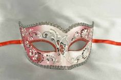 red carnival mask - Semplice