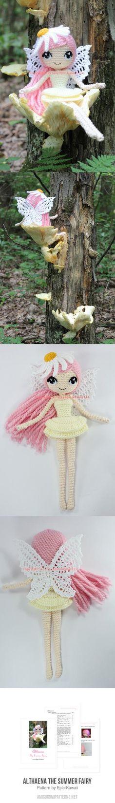 Althaena the Summer Fairy amigurumi pattern