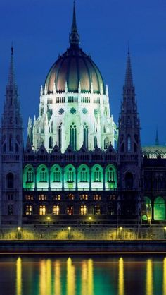 Hungarian Parliament Building,  Budapest, Hungary.I want to go see this place one day.Please check out my website thanks. www.photopix.co.nz