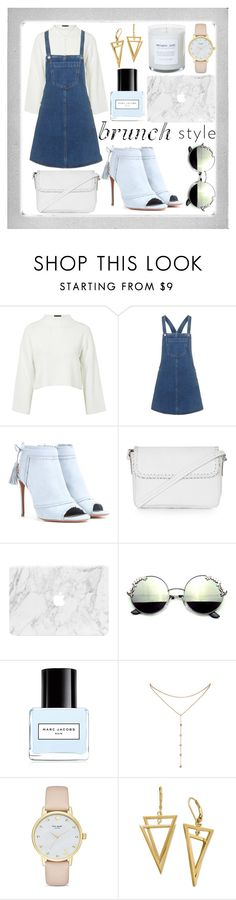 """""""Untitled #20"""" by nadjasp ❤ liked on Polyvore featuring Polaroid, Topshop, Aquazzura, Marc Jacobs, GUESS by Marciano and Kate Spade"""