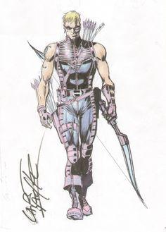 Hawkeye by Carlos Pacheco
