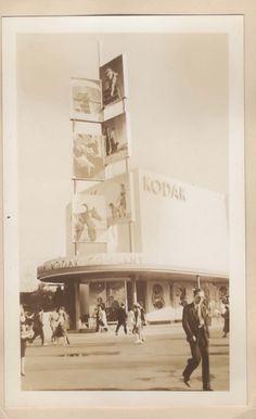 Kodak Pavilion at the 1939 World's Fair An Old Photo