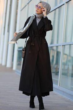 Islamic Fashion, Muslim Fashion, Modest Fashion Hijab, Fashion Outfits, Hijab Collection, Mode Hijab, Hijab Outfit, Classy Dress, Style Guides