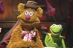 Kermit and Fozzie
