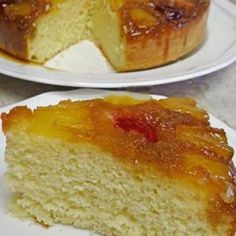 Gluten Free Pineapple Upside Down Cake Recipe - ZipList