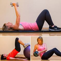 5-Factor Workout Circuit. Only 25 minutes. #workoutideas #workout #exercise