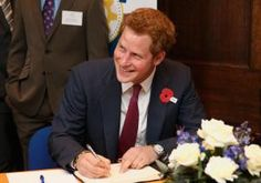 Prince Harry is expected in America Thursday for another royal visit — but this itinerary doesn't have a stop in Las Vegas.         The redheaded prince with the roguish reputation will be on his best behavior during a nine-day tour that includes visits with wounded soldiers and trips to New York and New Jersey to see Sandy-ravaged towns.