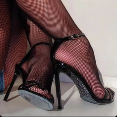 Stiletto Heels, High Heels, Stockings, Shoes, Instagram Posts, Fashion, Shoes High Heels, Tights And Heels, Socks