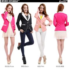 Korean Style Women Blazer