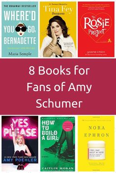 If you love Amy Schumer, check out these funny and thoughtful books.