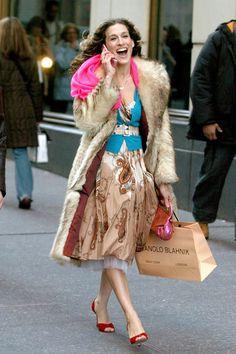 love the Blahnik bag :-)