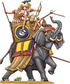 1 War Elephant, Greek Warrior, Carthage, Napoleonic Wars, Roman Empire, Military History, Ancient Greek, Marcel, Ancient History