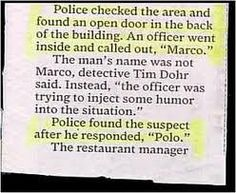 can't make this stuff up......Job security