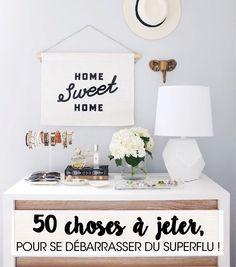 Trier, jeter, consommer mieux, bonnes résolutions, la magie du rangement, faire du tri Dream Closets, Tiny House, Studio, House Styles, Home Decor, Sweet Dreams, Homemade Home Decor, Tiny Houses, Studios