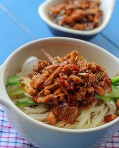 Pork Lo Mein ChinaSichuanFood (scratch = starch, as in cornstarch)