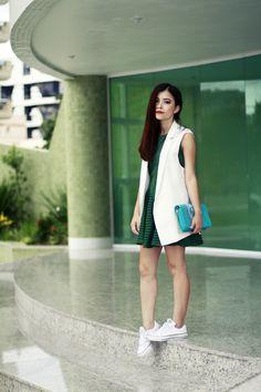 Blog da Lê-Moda e Estílo: Look - Esporte + Alfaiataria