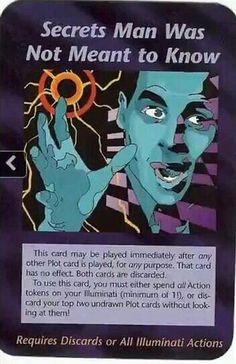 Illuminati card game - Unknown Secrets