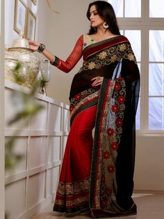 http://www.naaristyle.com/saree/georgette-party-sarees FREE COD at NaariStyle.com Call 7755912933 for more details.