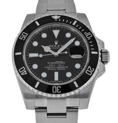 Rolex Oyster Perpetual Submariner Date $8,488 #rolex #watch #watches #chronograph steel case steel bracelet automatic movement waterproof up to 300m/1000ft