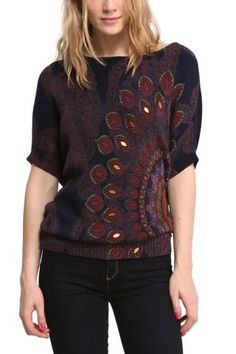 Simple yet striking Desigual sweater