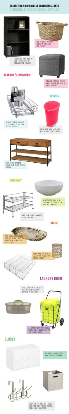 Dorm Organizing // Everything on the list is from Target!