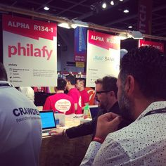 """#RiseConf guests: """"Wow you guys are really solving huge pain points and making #philanthropy easier than ever!"""".. #delta #startup #socialgood"""
