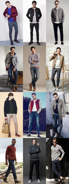 Men's University Style - Casual/Day Wear Outfit Inspiration Lookbook