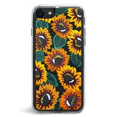 Here to spread the good vibes - our 'Sunny' iPhone case will give your phone the style and personality it's been waiting for. With a sturdy back and durable flexible rubber rim, this embroidered flora