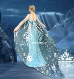 beautiful 85 inch long cape fabric panel, you are not buying a finished cape!!!!!  this listing is for 1 panel that measures apx. 85 inches long by apx. 59 inches wide  the fabric is a wide sheer organza for making the elsa frozen capes for your costume you can adjust the length or width to your