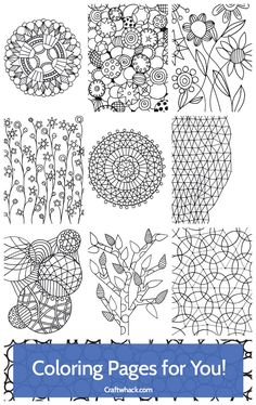 Cool coloring ebook for adults (and kids!)