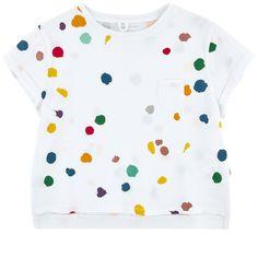 Fancy organic cotton T-shirt - 152216