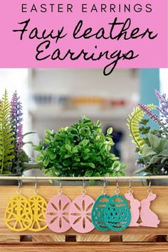 crafts diy Earring SVG file Easter Earrings from Faux leather from Life Sew Savory PAK The post Earring SVG file Easter Earrings from Faux leather from Life Sew Savory appeared first on Diy and crafts. Diy Craft Projects, Craft Tutorials, Fun Crafts, Diy And Crafts, Amazing Crafts, Sewing Projects, Diy Fashion Accessories, Easter Party, Leather Earrings