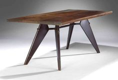 Jean Prouve table from Brazzaville // Christie's