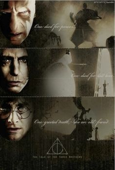 The Tale of The Three Brothers. harry potter