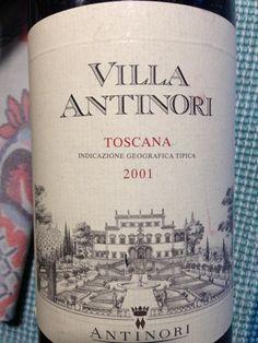 Billedresultat for villa antinori 2001 - nydt i Oslo Oslo, Vines, Bottle, Flask, Arbors, Grape Vines, Jars
