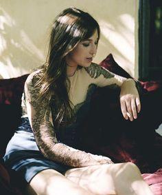 Charlotte Gainsbourg by Paul Jasmin