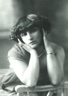 Colette at 40 years old. Colette (1873-1954) was a French novelist nominated for the Nobel Prize in Literature in 1948.