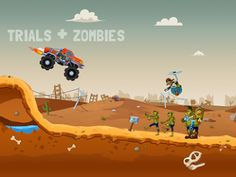 Zombie Road Trip Trials 1.0.2 Apk  Android Games  The hit game Zombie Road Trip is back with an all NEW trials spin off! Hundreds of extreme missions await you and your friends in this fun filled and action packed physics game. Show off your driving shooting flipping racing and zombie smashing skills in this awesome spin on the classic trials genre! Choose from an arsenal of guns to dispatch zombies roaming the wastelands. Watch them get dismembered thanks to our realistic rag-doll physics…