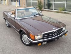 1984 Mercedes Benz 500SL Euro For Sale Front